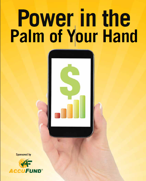 2015 Fundraising Special Report Power in the Plam of Your Hand